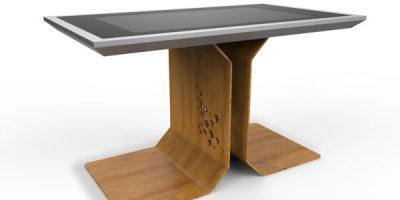 D-Table: il primo tavolo multi-touch interattivo e interamente di design creato da Danilo Cascella.