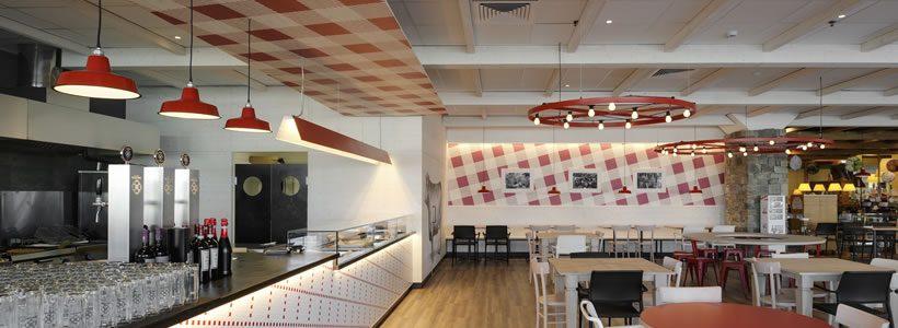 """Lo Studio A4A di Milano sviluppa per Iper, """"La grande i"""", il nuovo concept della griglieria """"Musi Lunghi"""""""
