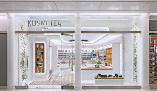 KUSMI TEA  World Trade Centre New York.