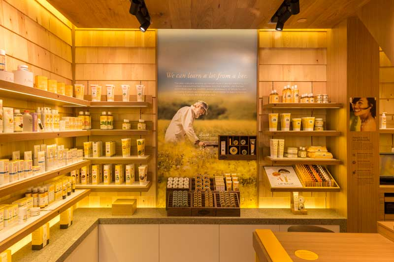Burt s Bees concept store Landini Associates