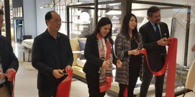 Primo flagship store a Shanghai per FRETTE.