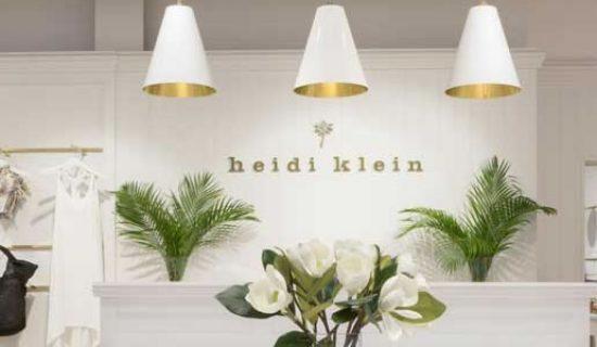 KINNERSLEY KENT DESIGN firma il concept di HEIDI KLEIN.