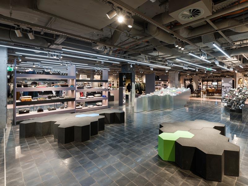 Oberpollinger Monaco retail design Gonzalez Haase