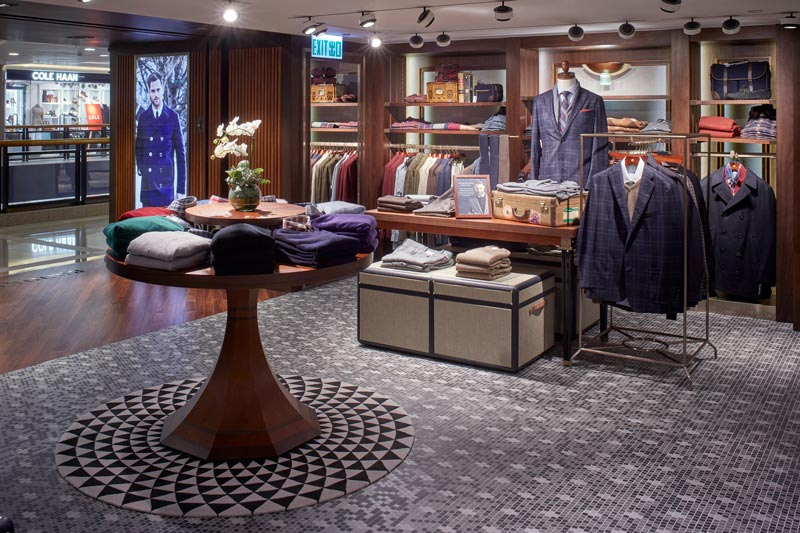 Brooks Brothers boutique Habour City retail design Stefano Tordiglione