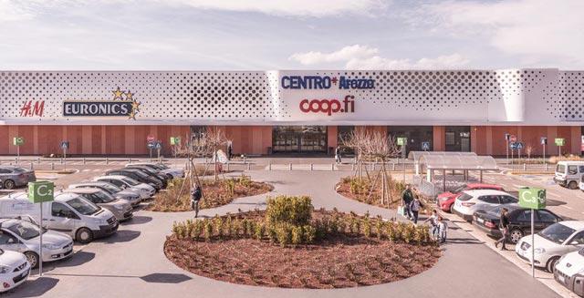 CNCC design awards 2017 piuarch Centro Arezzo coop fi