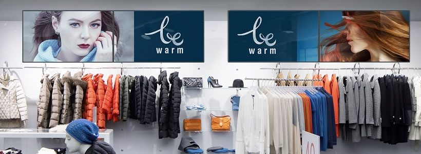 NEC Display Solutions to showcase retail signage applications at EuroShop 2017.