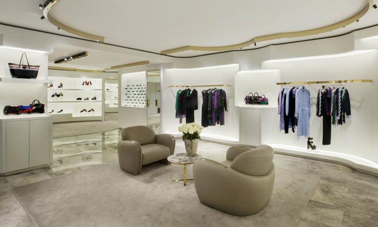 VERSACE flagship store Hong Kong Central