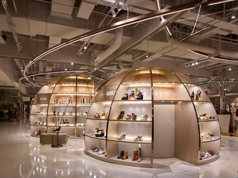 2f shoes Chaoyang retail design Garde