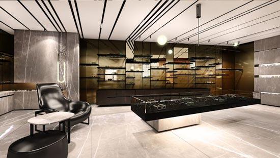 Dita eyewear Tokyo flagship store