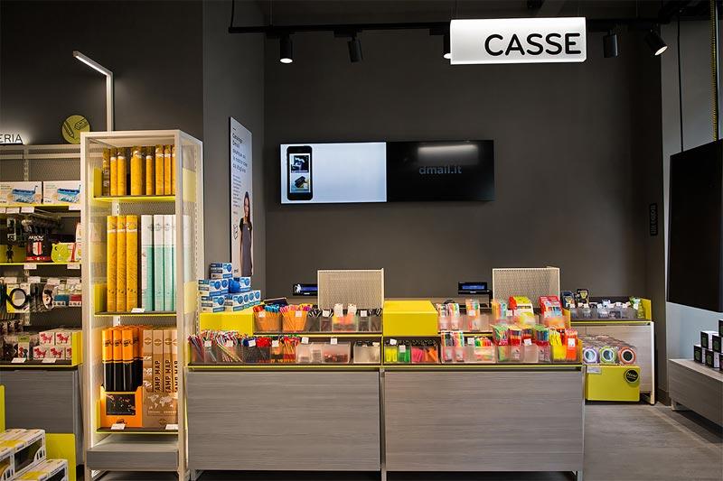 dmail concept store Migliore Servetto Architects