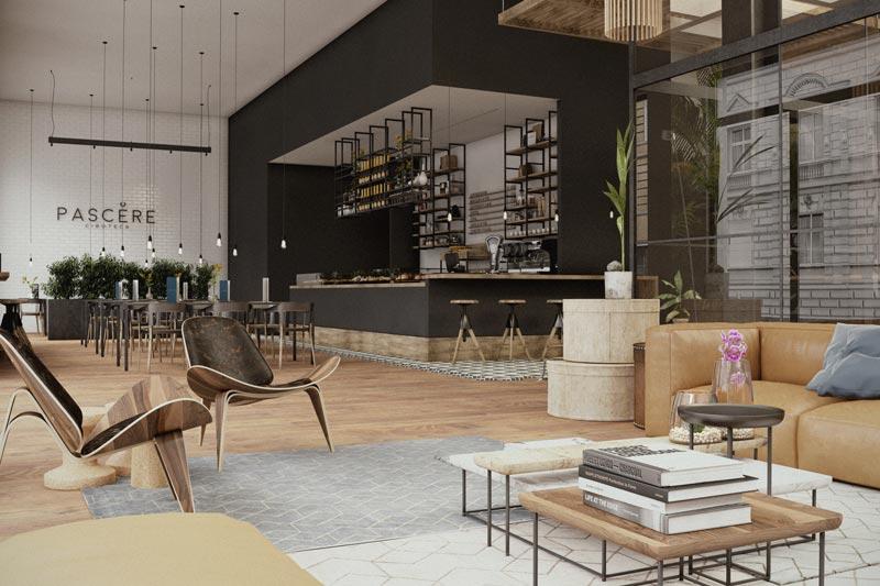 retail food Pascere ciboteca Zuppelli Design Architettura