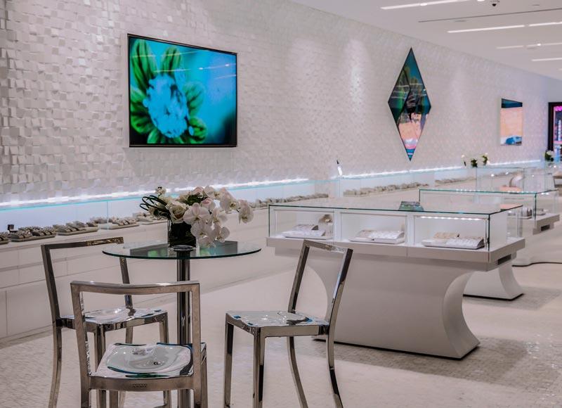 Spence Diamonds The Domain Austin retail design JGA
