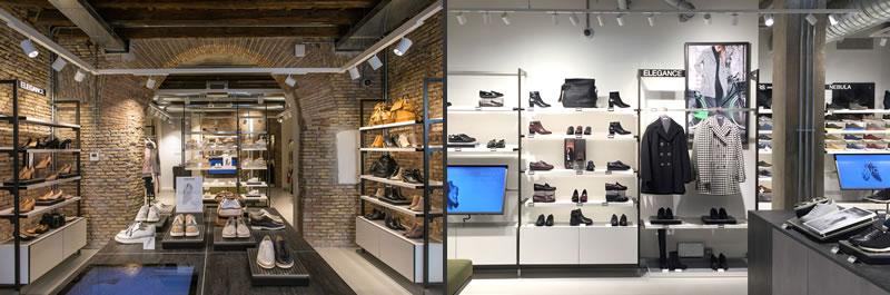 retail design Geox Xstore concept