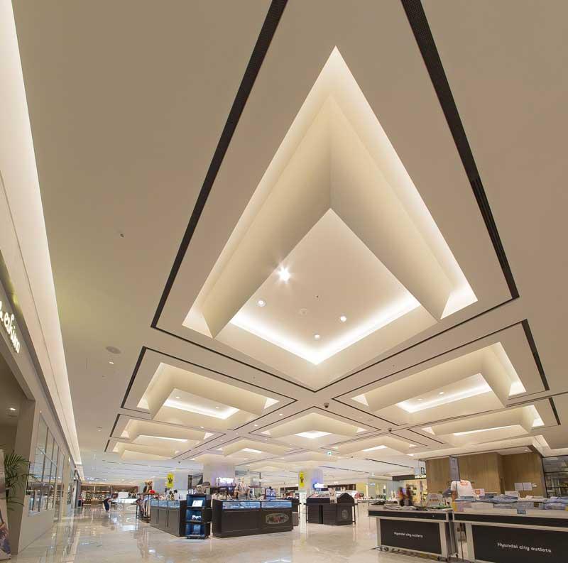 Garde interior design branding hyundai city outlets