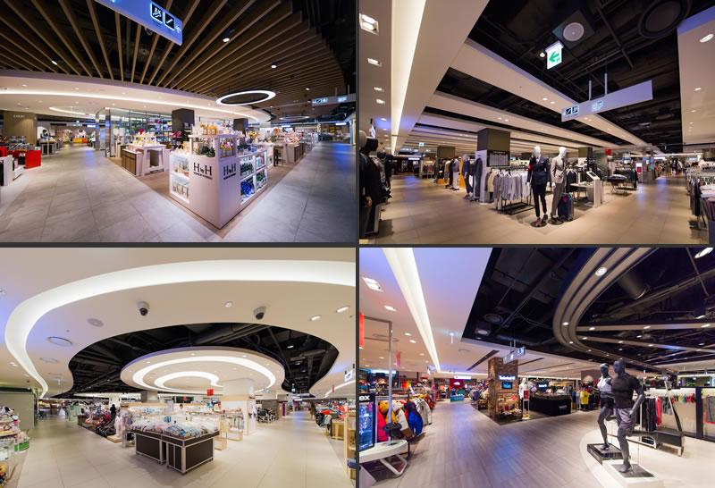Garde interior design branding hyundai city outlets