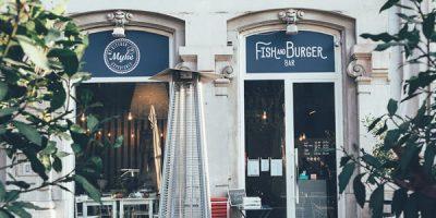 Nuovo design per il milanese Myke Fish&Burger Bar. La firma è di Hit arcHITects.