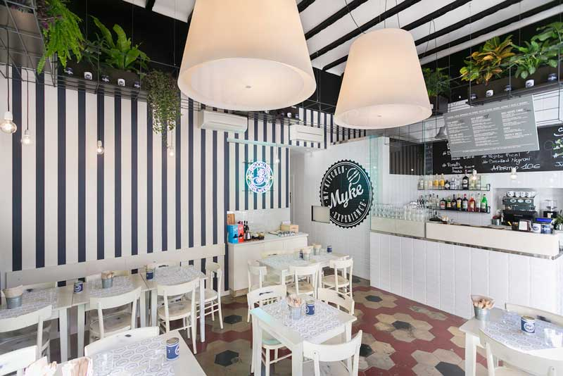 Hit arcHITects design Myke Fish Burger Bar Milano