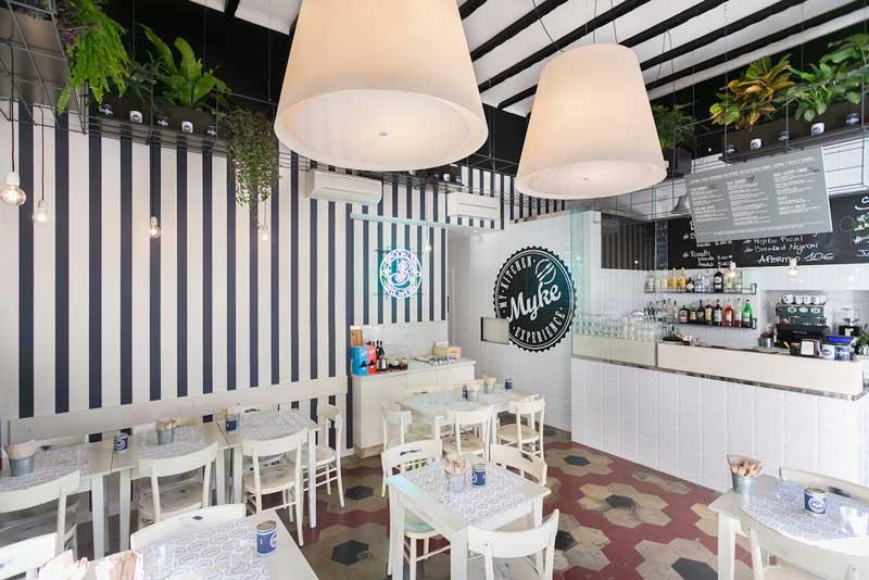 Hit arcHITects design Myke Fish Burger Bar Milano