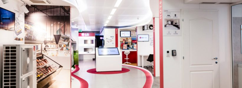 LG ELECTRONICS presenta il nuovo showroom della divisione Air Conditioning