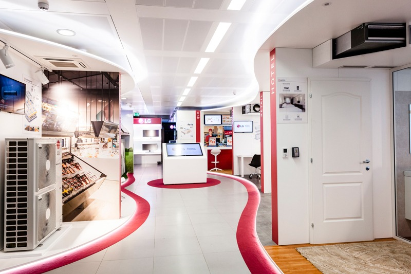 LG ELECTRONICS air conditioning showroom