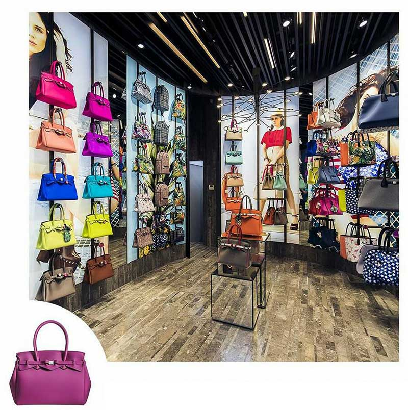 Save my bag apre il primo store a milano an shopfitting for Negozio casa milano