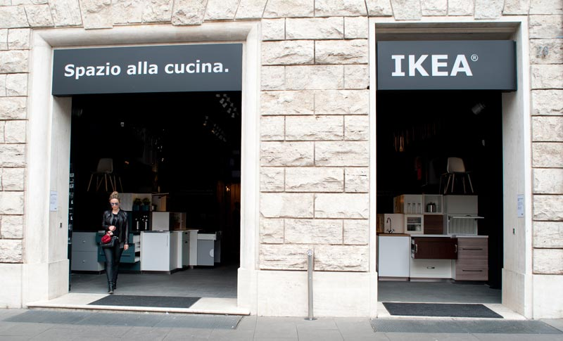 The First Ikea Italian Pop Up Store In Rome An Shopfitting Magazine
