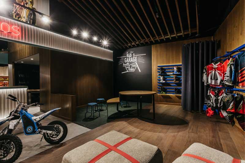 retail design Moremoto Store Madrid