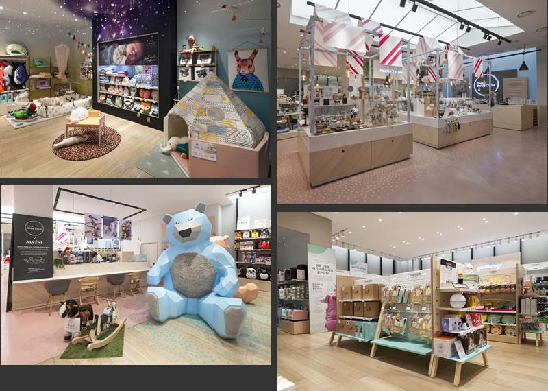retail design Dalziel Pow e mart south korea