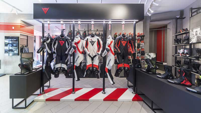 Dainese concept store