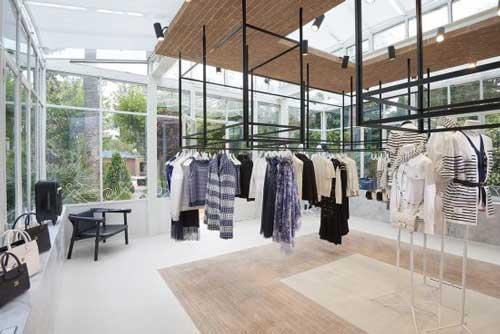 Chanel summer boutique Saint Tropez