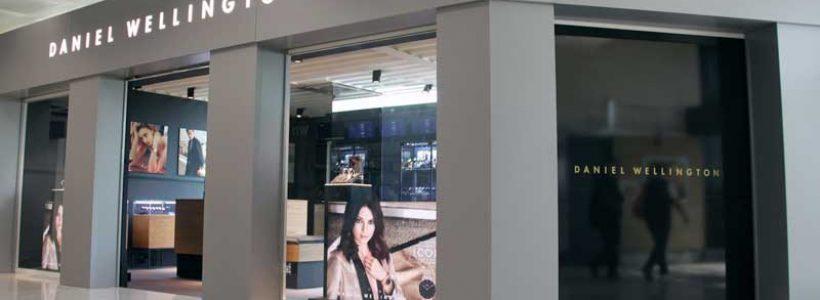 DANIEL WELLINGTON: nuovo flagship store a Malpensa.