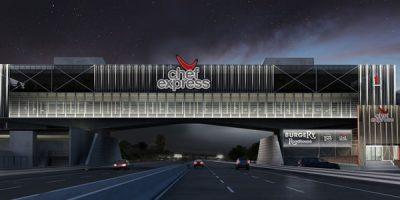 """CHEF EXPRESS ha inaugurato la nuova area """"A Ponte"""" di Novara, simbolo della ristorazione autostradale italiana."""