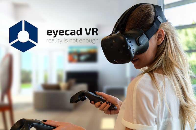 progettazione tempo reale tecnologia EyeCad VR