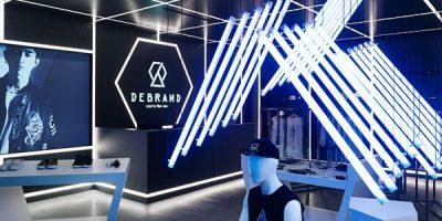 DEBRAND concept store, Taipei.
