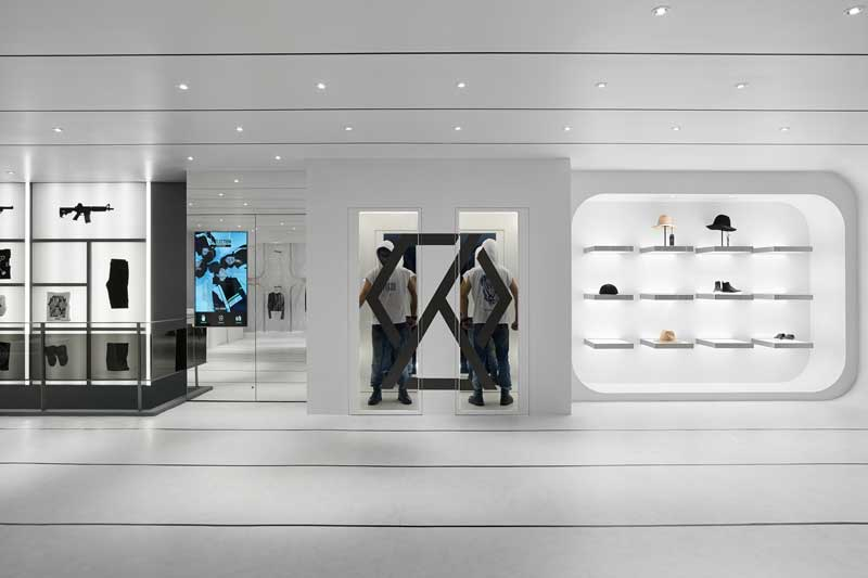 retail design Michelle Wei boutique Debrand Taipei