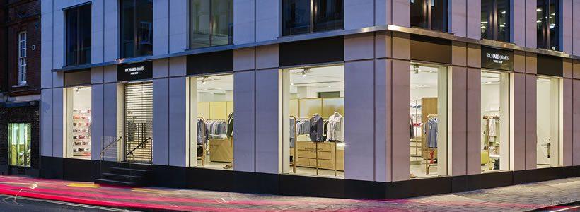 RICHARD JAMES flagship store, Londra.