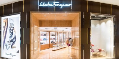 SALVATORE  FERRAGAMO re-opens its new store at Singapore Ion Orchard.