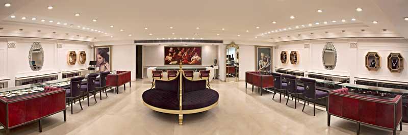 arredamento gioiellerie Ravish Mehra Deepak Kalra