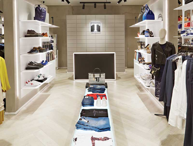 T TRUSSARDI concept store