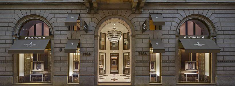 Pisa Orologeria inaugura la nuova Boutique Patek Philippe.