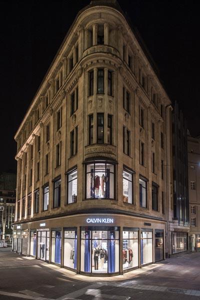 Calvin Klein flagship store Dusseldorf