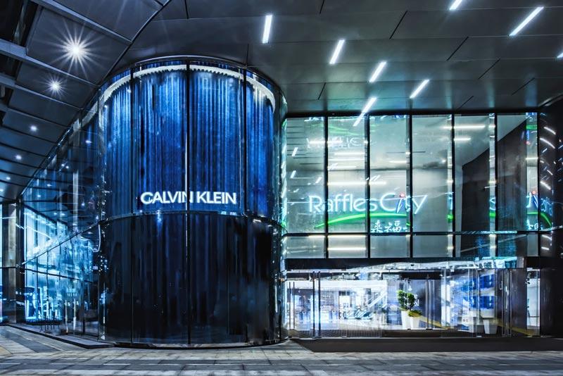 Calvin Klein flagship store Shanghai