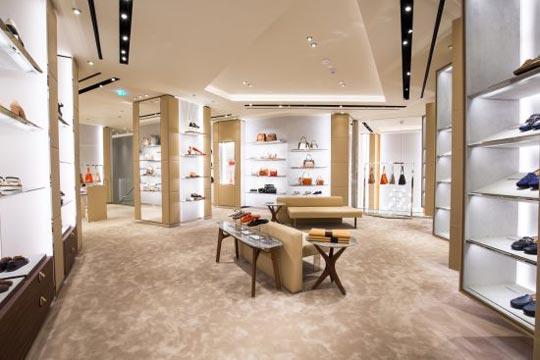 catene negozi flagship store tods vienna