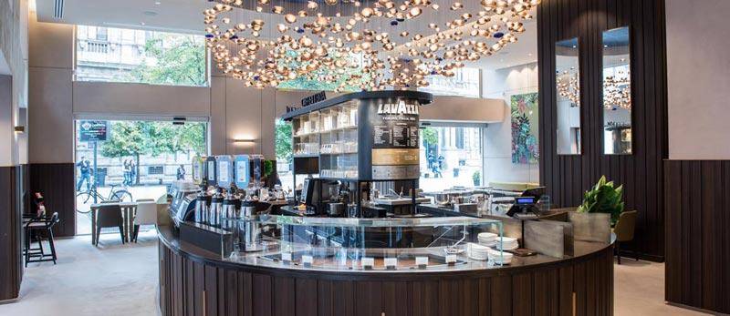 flagship store lavazza milano
