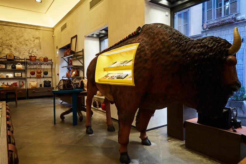 Il Bisonte boutique Milano Vudafieri Saverino Partners