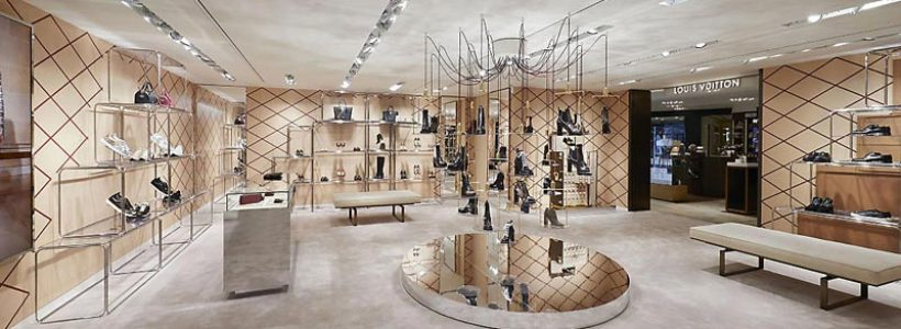 LOUIS VUITTON, nuovo spazio per il pop-up store permanente a Milano.