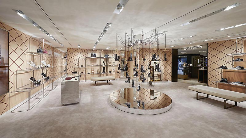 Louis Vuitton pop up store La Rinascente Milano