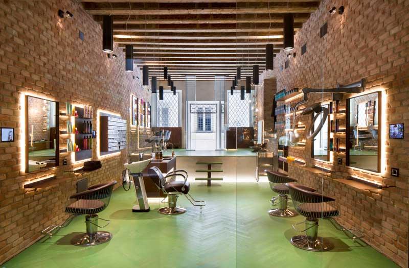 Michele Perlini interior design Tigi concept
