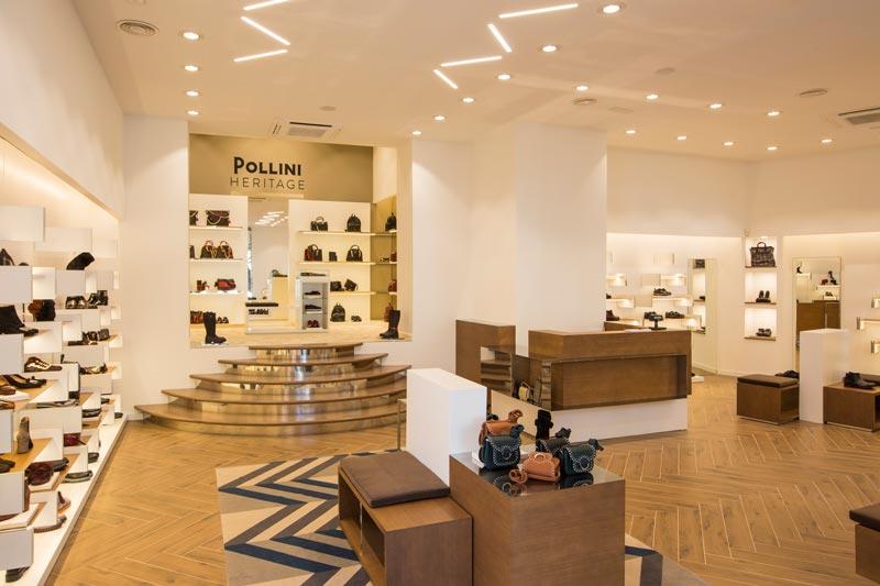 Pollini sviluppo retail