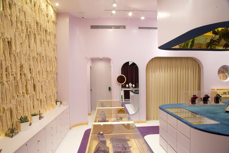 Taller Ken retail design alessa jewelry store guatemala city
